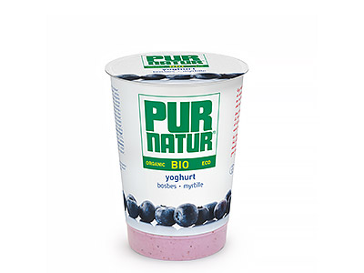 Pur Natur Blueberry organic yogurt 500g