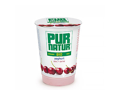 Pur Natur Cherry organic yogurt 500g