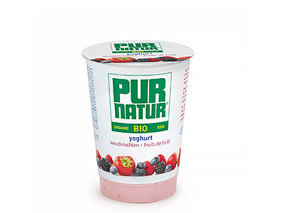 Pur Natur Fruits of the forest organic yogurt 500g