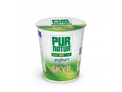 Pur Natur low-fat Skyr yogurt is high in protein