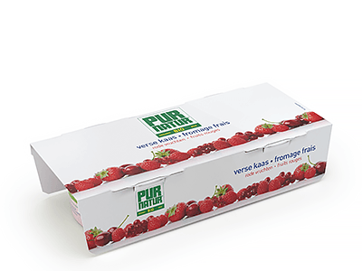 Red fruits fromage frais 2x150g